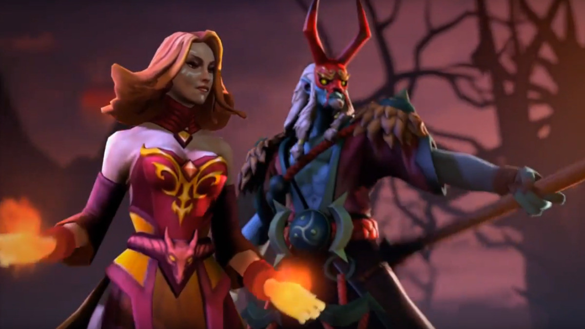 Lina and GrimStroke